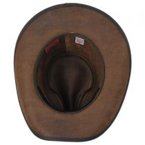 Carson City Leather Western Hat in
