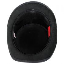 Skull Rider Leather Top Hat in