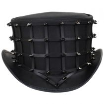 Hellraiser Leather Top Hat in