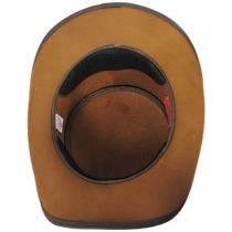 Buffalo Pale Rider Leather Top Hat in