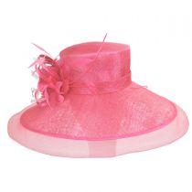 Lady's Secret Sinamay Lampshade Hat alternate view 2