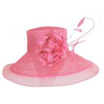 Lady's Secret Sinamay Lampshade Hat alternate view 3