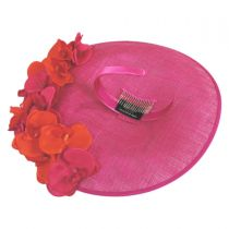 Triple Crown Sinamay Fascinator Hat in