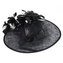 Dancer Sinamay Fascinator Hat in