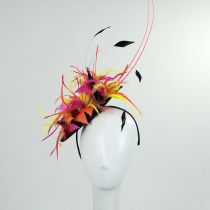 Zenyatta Sinamay Fascinator Hat in