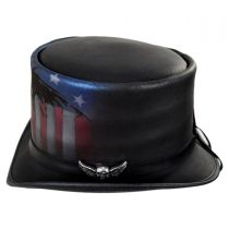 USA Leather Top Hat alternate view 19
