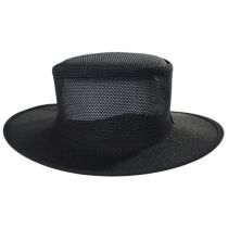 Duchess Mesh Wide Brim Top Hat in