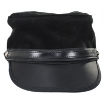 City Limits Leather and Suede Cadet Cap in