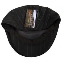 Clifton Wool Pinstripe Ivy Cap in