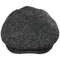 Bickenhall Nailhead Wool Check Ivy Cap in