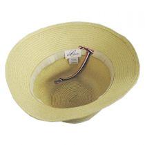 Mary Toyo Straw Cloche Hat in