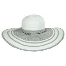 Cobblestone Toyo Straw Blend Sun Hat in