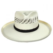 Edgy Shantung Straw Western Hat alternate view 2