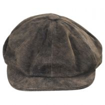 Rustic Leather Newsboy Cap alternate view 18