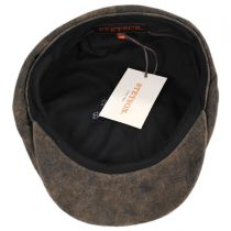 Rustic Leather Newsboy Cap alternate view 20