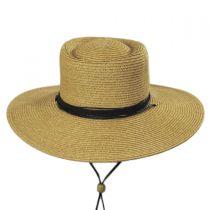 Bruges Toyo Straw Blend Boater Hat in