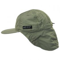 Excavator Nylon Fishing Flap Cap alternate view 7