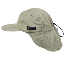 Excavator Nylon Fishing Flap Cap alternate view 15