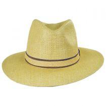 Climber Toyo Straw Safari Fedora Hat in