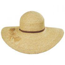 Trancosco Raffia Braid Straw Swinger Hat alternate view 2