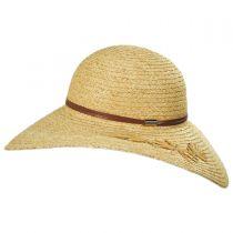 Trancosco Raffia Braid Straw Swinger Hat alternate view 3