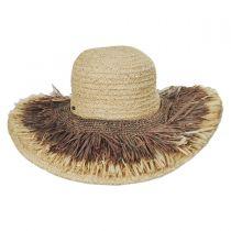 Cefalu Raffia Straw Swinger Hat alternate view 2