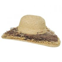 Cefalu Raffia Straw Swinger Hat alternate view 3
