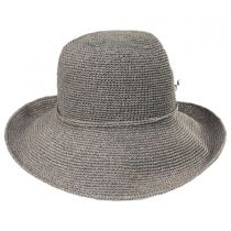 Graziella Breton Hand Crocheted Toyo Straw Sun Hat alternate view 6