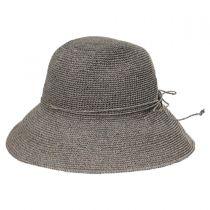 Graziella Breton Hand Crocheted Toyo Straw Sun Hat alternate view 7