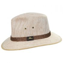 Caribbean Linen Fedora Hat in