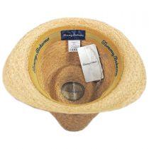 Mojito Raffia Straw Fedora Hat in