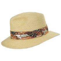 Ko Lipe Toyo Straw Fedora Hat alternate view 3