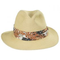 Ko Lipe Toyo Straw Fedora Hat in