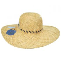 Bermuda Raffia Straw Swinger Hat in