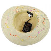 Ushuaia Toyo Straw Fedora Hat in