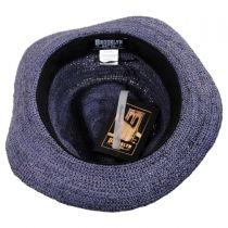Matteo Hand Crocheted Raffia Straw Fedora Hat alternate view 4
