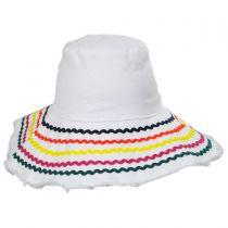 Ric Rac Cotton Sun Hat in
