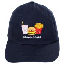 Kids Squad Goals Strapback Baseball Cap alternate view 2
