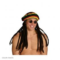 Rasta Tam with Dreadlocks