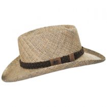 Melton LiteStraw Seagrass Gambler Hat in
