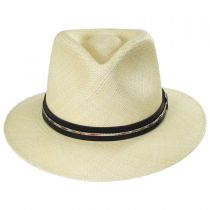 Stansfield Panama Straw Fedora Hat alternate view 2