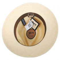 Stansfield Panama Straw Fedora Hat alternate view 4