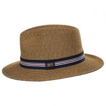 Hester Toyo Straw Blend Fedora Hat alternate view 3