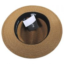 Hester Toyo Straw Blend Fedora Hat alternate view 4
