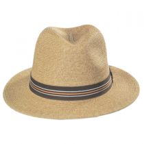 Hester Toyo Straw Blend Fedora Hat alternate view 6