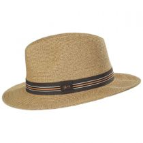Hester Toyo Straw Blend Fedora Hat alternate view 7