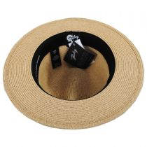 Hester Toyo Straw Blend Fedora Hat alternate view 8