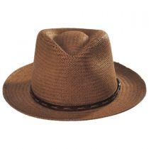 Lappen Raindura Straw Fedora Hat alternate view 2