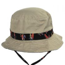 Aircraft Cotton Kids Bucket Hat alternate view 2