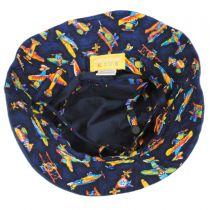 Aircraft Cotton Kids Bucket Hat in